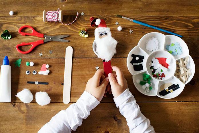 Dekoracje na Boże Narodzenie DIY z dzieckiem